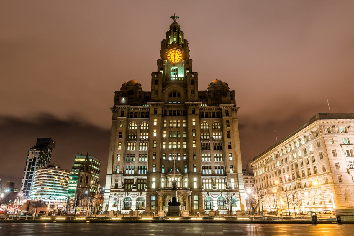 beautiful city of Liverpool