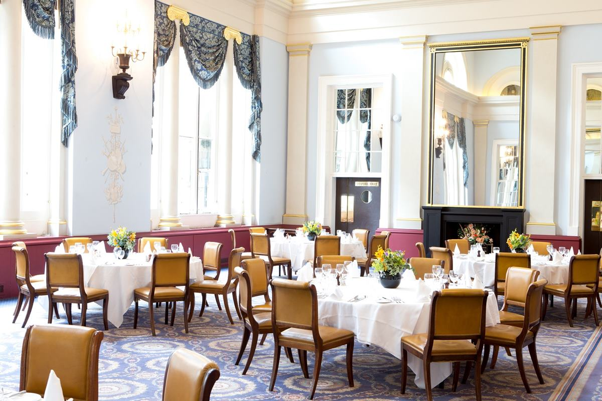 main dining room events hire city of london club