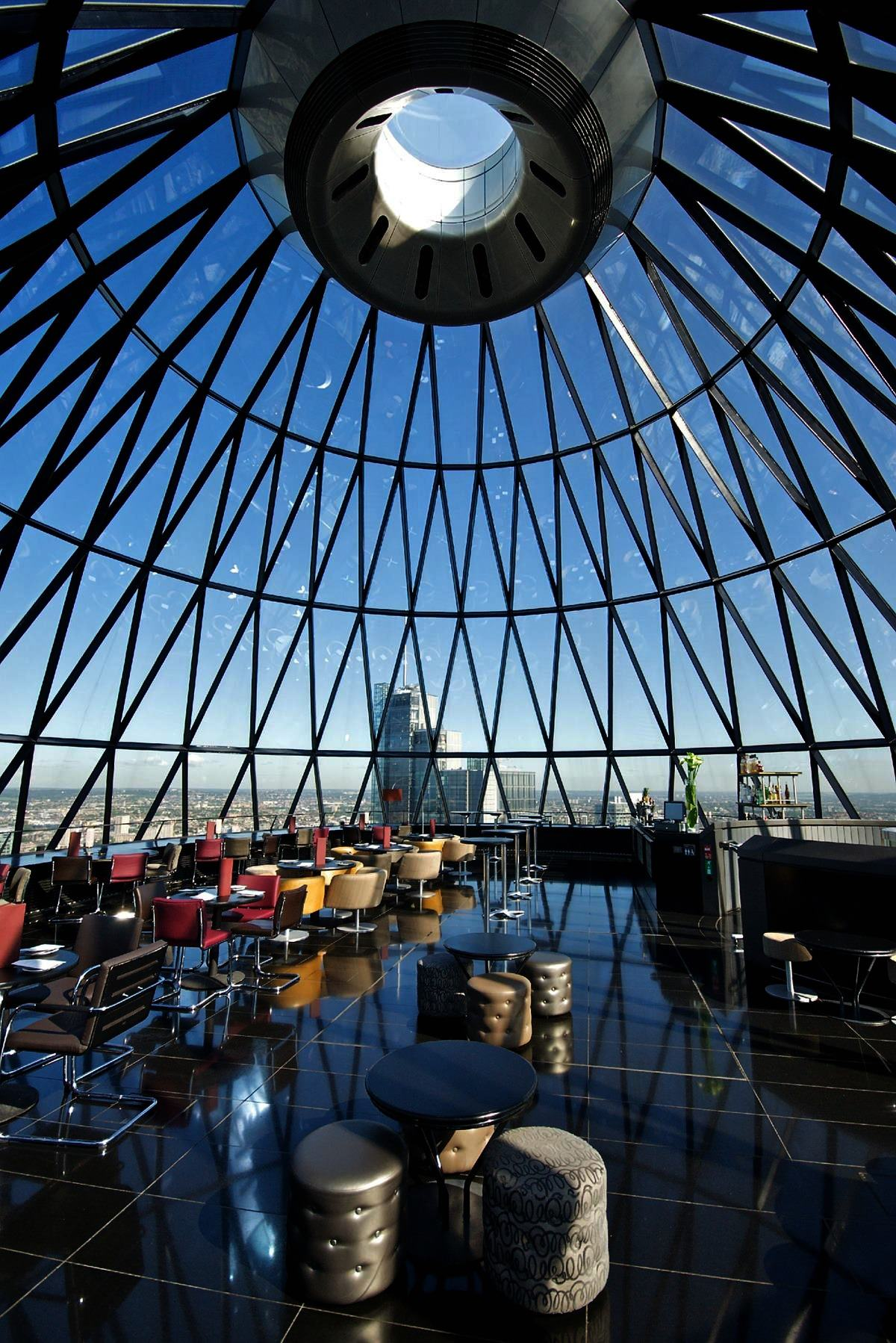 Gherkin Panoramic Room Top Floor