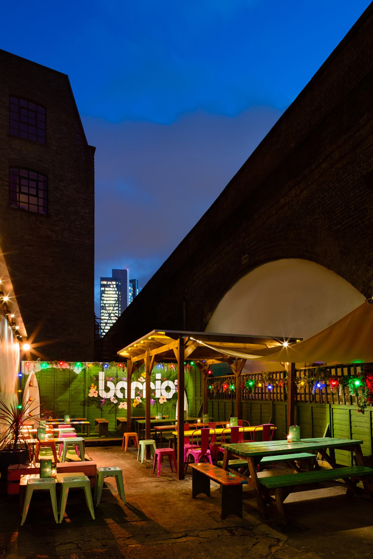 Barrio Shoreditch: Business Hire
