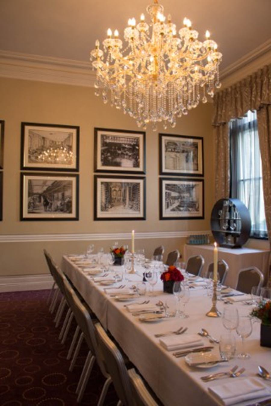 melville room | dining | chiswell street dining rooms