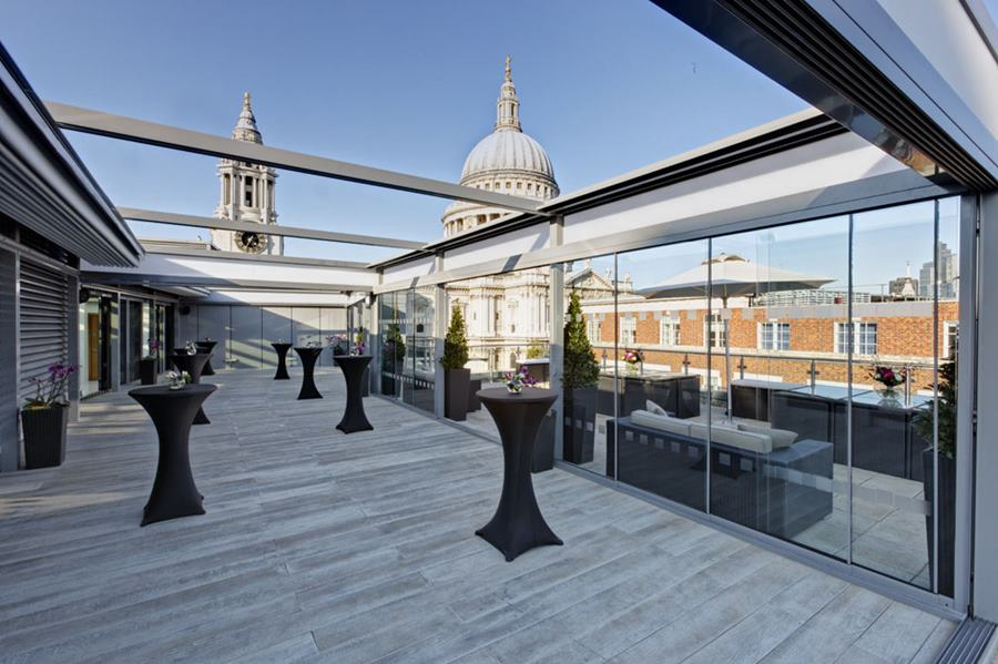 Button Rooftop Bar London
