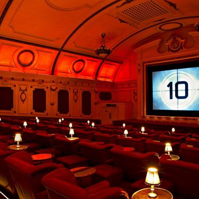 Private Screening Rooms London